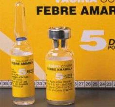 En la provincia no hay vacunas para la fiebre amarilla