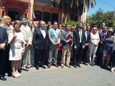 El gobernador Casas pidió renovar compromisos por la Paz y el Dialogo