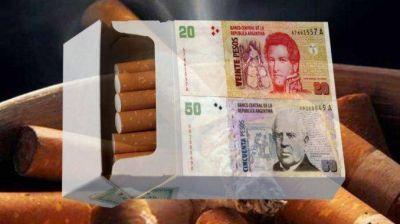 Especulan con fuerte aumento desde el inicio de 2017 y piden casi $ 70 por un atado de cigarrillos