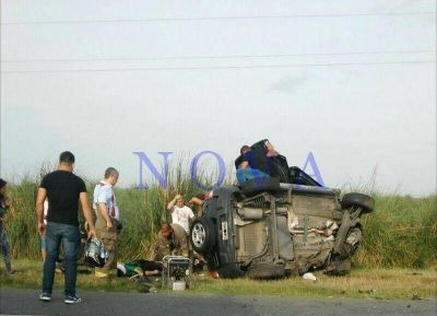 Accidente fatal en la Ruta 11 con dos fallecidos