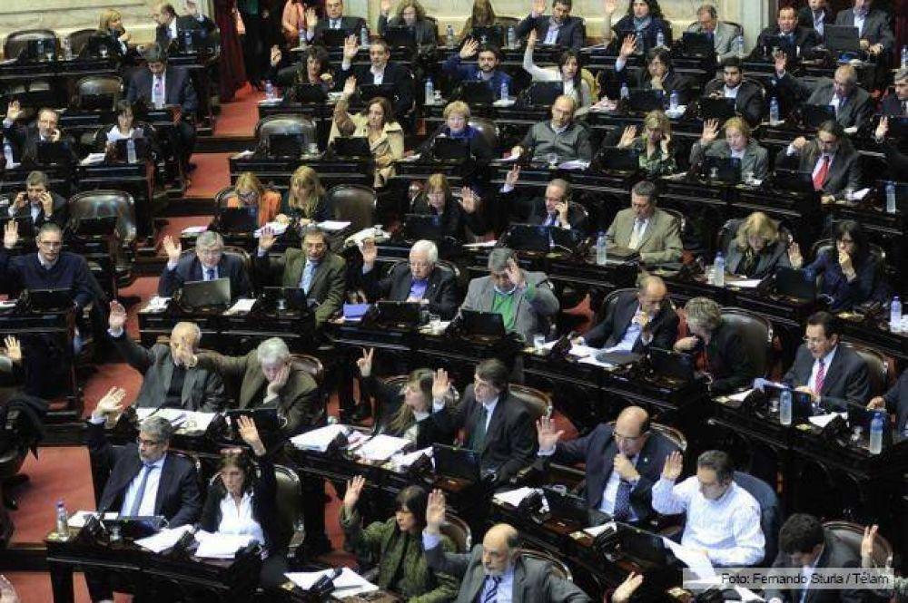 Cambiemos y el massismo pondrán en juego casi la mitad de sus bancas en Diputados