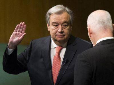 Antonio Guterres es el nuevo secretario general de la ONU