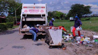 Acciones de limpieza integral en diferentes barrios de la ciudad