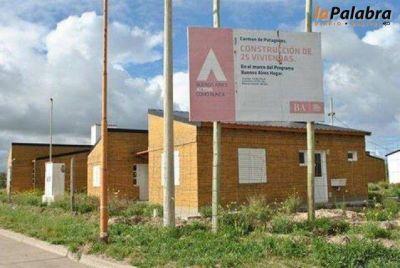 Entregan las 25 viviendas del Plan Buenos Aires Hogar