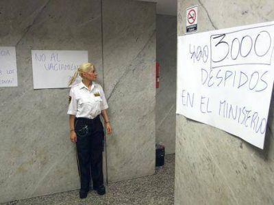 """Sadop repudió """"la brutal represión y la ola despidos"""" en el Ministerio de Educación y Deportes de la Nación"""