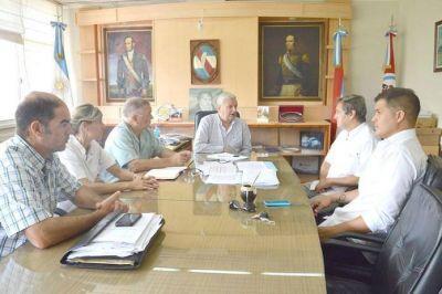 Lauritto recibió al nuevo Director del Hospital