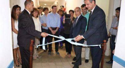 Santoro y Salvador inauguraron obra de salud