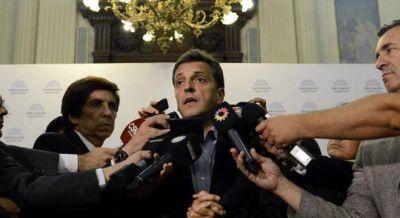 Massa presionará en marzo para que haya paridad de género en las listas nacionales