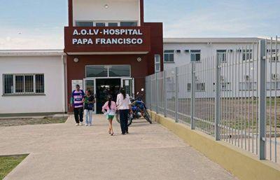 Ahora, el Estado limpia y mantiene el hospital Papa Francisco