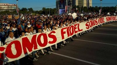 Sin Fidel Castro y con un mensaje a Donald Trump, Cuba celebró un nuevo aniversario de la Revolución