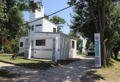 Con críticas a Vidal, Secco inauguró una nueva base de la Policía Local