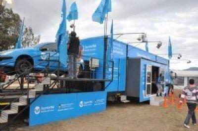 La Agencia Nacional de Seguridad Vial instala un simulador en Carlos Paz