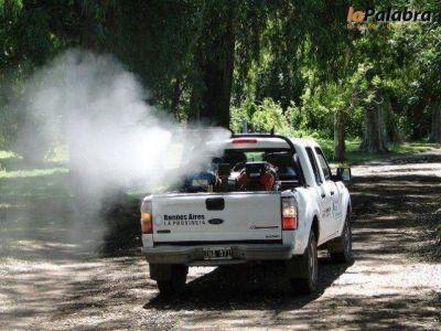 Operativos de fumigación en el distrito para prevenir enfermedades