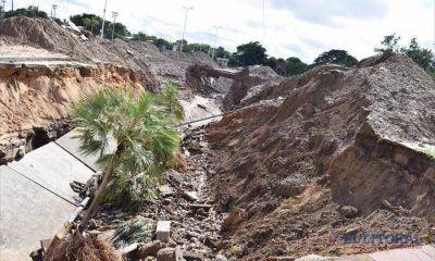 Pluvial de avenida Romero: los materiales llegarían hoy y el lunes comienzan las obras
