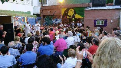 Misa para reclamar la liberación de Milagro Sala en Vicente López