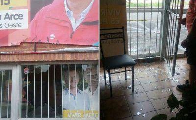 DENUNCIAN VANDALISMO EN LOCAL DEL PRO DE LANUS OESTE
