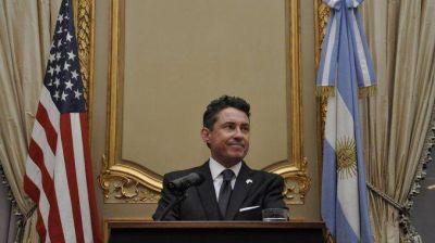 Renunció el embajador de Estados Unidos en la Argentina