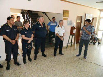 Gasparini inauguró el Centro de Monitoreo