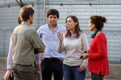 La gobernadora María Eugenia Vidal llega a Chivilcoy