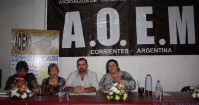 Corrientes: Intervinieron el gremio municipal AOEM