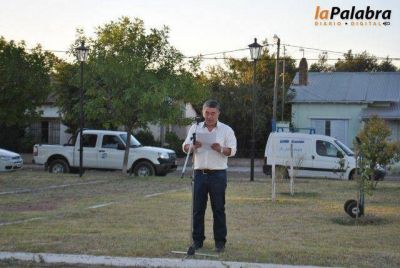 Quedó inaugurada la obra de iluminación de la Plaza 1º de Mayo