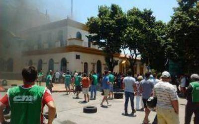 Nuevo paro de municipales en reclamo de un bono en Chascomús