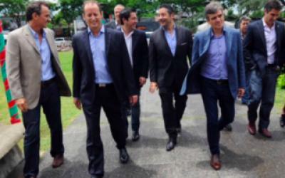 Los intendentes del PJ del grupo