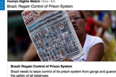 Masacre en la cárcel de Manaos: Francisco reza, pide condiciones dignas y programas de reinserción