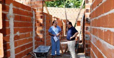 Continúa en construcción el edificio para la morgue