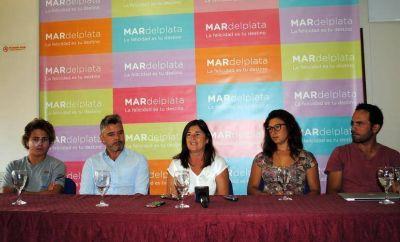 El Club Náutico presentó en el Emtur el Primer Campeonato Argentino de Waszp y segundo de Moth