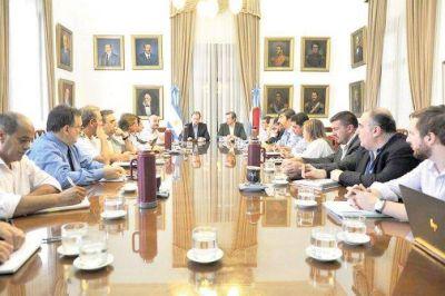 Primera reunión del año el gabinete provincial