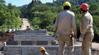 Se ejecutan las obras que dependen de recursos provinciales