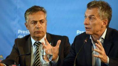 Voto electrónico: Cornejo espera un gesto de Macri