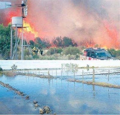 Fuego e inundaciones muestran falta de planes de contingencia y obras