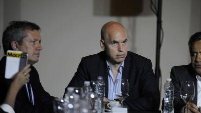 Horacio Rodríguez Larreta arremetió contra los Metrodelegados por el paro en la línea C de subte: