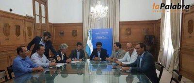 Zara firmó convenios para la construcción de 111 viviendas en Carmen de Patagones