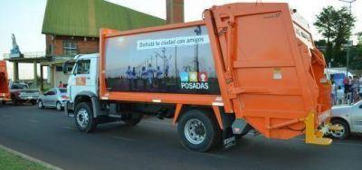 Posadas: Desde el municipio afirman que la EBY no cumplió con la entrega de camiones compactadores