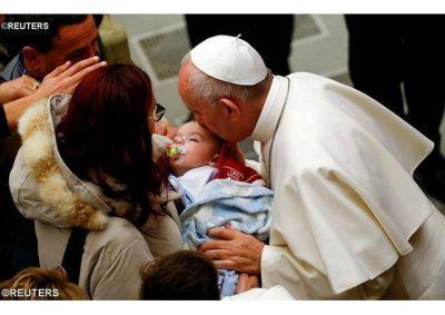 Encuentro del Papa con damnificados por el terremoto en Italia