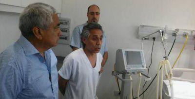 Inauguraron la ampliación en la Sala de Pediatría del Hospital