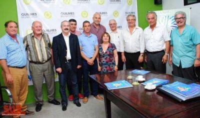 Molina firmó convenios de cooperación con entidades quilmeñas