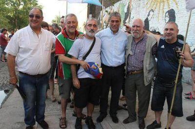 """Ferraresi: """"En Avellaneda siempre vamos a tener las banderas de Memoria, Verdad y Justicia"""""""