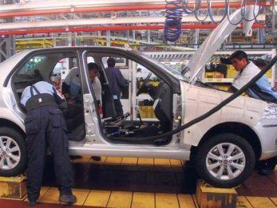La peor producción de autos en diez años