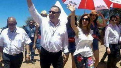 El ministro Santos quiere traer a Las Termas el