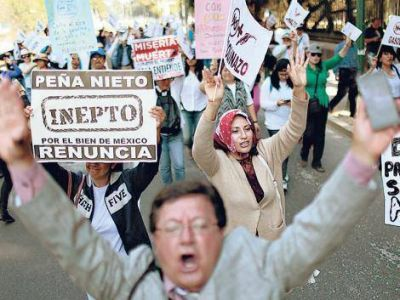 Crece el rechazo al gasolinazo en México