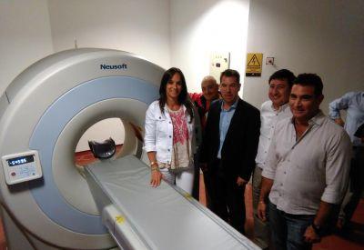 Presentaron el nuevo tomógrafo del hospital municipal de Miramar