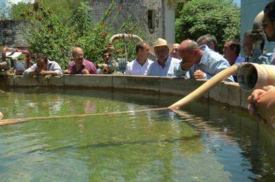 Constataron la calidad del agua potable que abastece al interior provincial