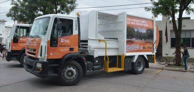 Nuevas unidades para recolectar basura