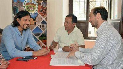 Cachi y Payogasta firmaron convenios de obras