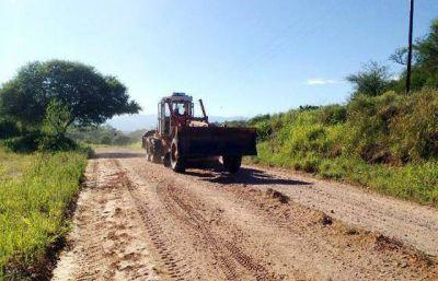 Tareas de mantenimiento en rutas del sur provincial
