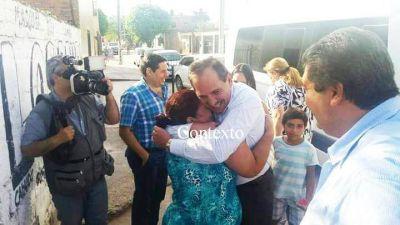 Las fotos de Alperovich y su hija Sarita junto a una narco